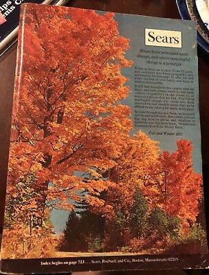 1971 Sears Fall/Winter Catalog - Boston