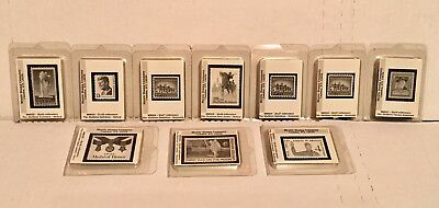 Mystic Stamp Company Stamp Mounts Assorted Sizes & Styles 10 boxes packages