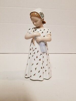 Vintage Bing and Grondahl mother or nurse with baby porcelain figurine. 1721