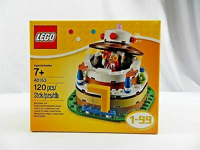 New LEGO Birthday Party Cake 40153 Ages 1 99 Collector Set Joker 2016