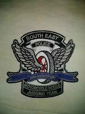 Police Rodeo Patch 25 Anniversary