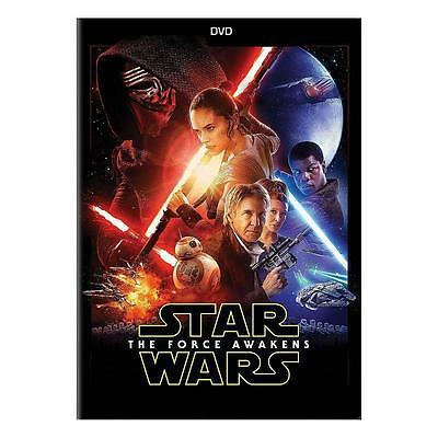 Star Wars Episode VII: The Force Awakens DVD New & Sealed Free Shipping!