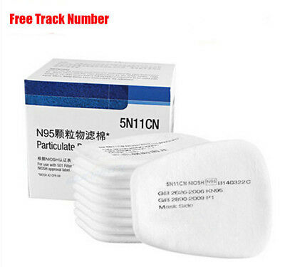 5N11 N95 Particulate Cotton Filter Safety for 3M6200 6800 Respirator Gas Mask