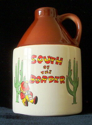 South of the Border Dillon SC Souvenir Jug – Pedro, made in US, holds 14 ounces