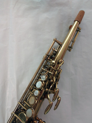 Preloved Amati Classic Super Soprano Sax Saxophone Fully Serviced Great Quality