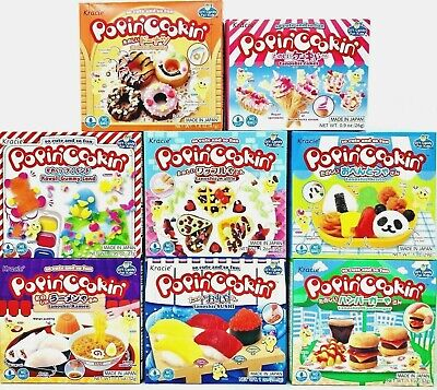 Kracie Popin' Cookin' DIY Gummy Candy Making Kit Various Selections US Seller