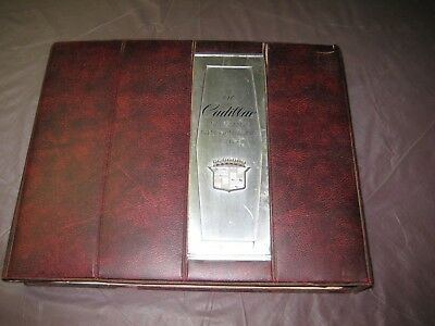 1973 Cadillac Dealership Salesmans Merchandising Guide In good Shape