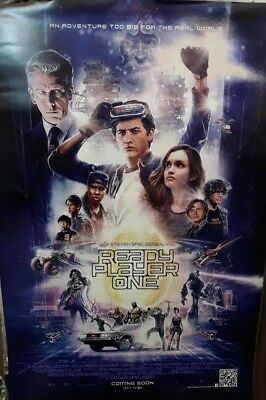 Original Ready Player One movie 2018 DS 1sh POSTER int'l Steven Spielberg