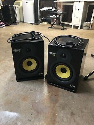 KRK Rokit 6 Monitors great condition complete with power leads