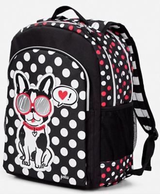 NWT Justice Pawsitivity Puppy Dog 2 Sided Backpack School Book Bag Girls NEW