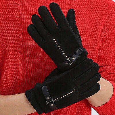 UK Winter Warm Windproof Anti-slip Thermal Touch screen Gloves Mall