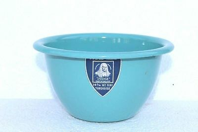 Old Vintage Enamelware Small Bowl Home Decor Tableware Collectible F48