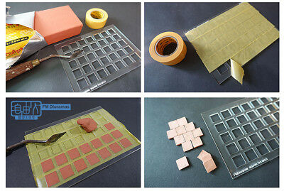 Freedom Man 1/35 diorama accessory set No-3502012, square tile mold