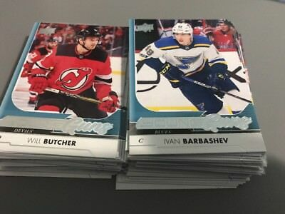 2017-2018 Upper Deck Young Guns 201-250 you pick, finish your set
