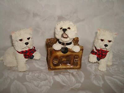 3 Leonardo West Highland White Terrier Collection Mischief Maker
