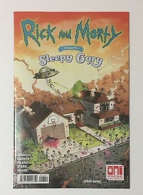 Rick And Morty Sleepy Gary #1 Exclusive Extremely Rare NM