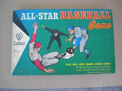 Cadaco 1962 All-Star Baseball Game No. 183 Player Discs Clemente McCovey in Box