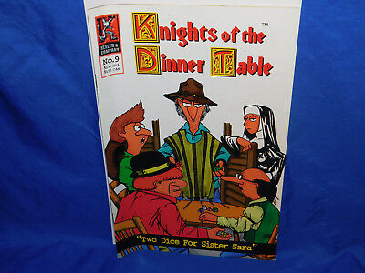 Knights of the Dinner Table #9 (1997) Kenzer & Company FN