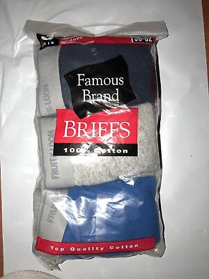 Mens 6-Pack Color briefs Hanes- Fruit of the loom- Gildan in Famous Brand!