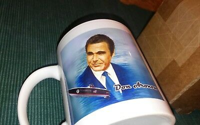 RARE Don Aronow Offshore Racing Cigarette Donzi Boat Builder Collectible Mug