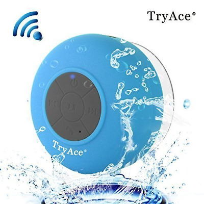 TryAce Bluetooth Waterproof Speaker with Built in mic & Dedicated Suction Cup