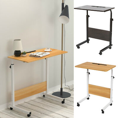 Height Adjustable Laptop Stand Computer Table PC Desk Study Workstation Sofa