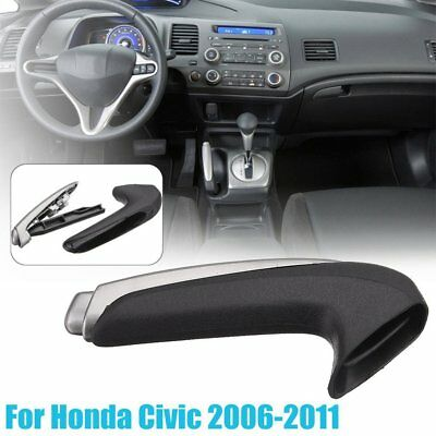 Interior Parking Hand Brake Handle Lever Grip Cover For Honda Civic 2006-2011 QP