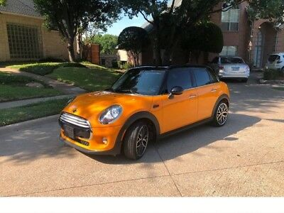 2015 Mini Hardtop 4 Door Cooper 4dr Hatchback 2015 MINI Hardtop 4 Door Cooper 4dr Hatchback 24,000 Miles Orange Hatchback 1.5L