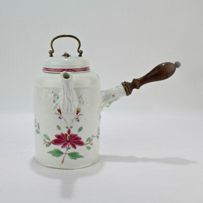 Antique 18th Century Marcolini Period Meissen Porcelain Chocolate Pot - PC