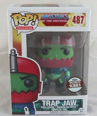 Funko Pop! Masters of the Universe Trap Jaw #487 Funko Specialty Series