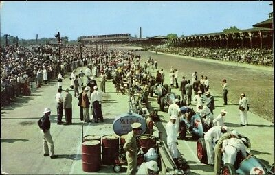 Ak Indianapolis Indiana USA, 500 Mile Speedway, pit area, check... - 2241627