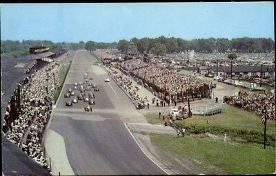 Ak Indianapolis Indiana USA, 500 Mile Speedway, start of the race - 2241628