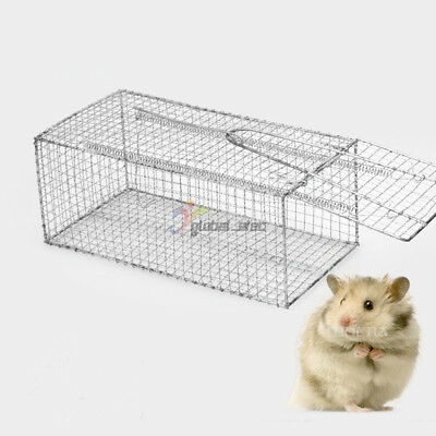 NEW Humane Rat Trap Cage Animal Pest Rodent Mice Mouse Control Live Bait Catch