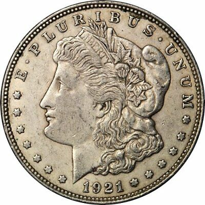 1921 Morgan Silver Dollar I Will pull one random 1921 in VG Condition P, D, or S