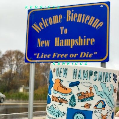 STARBUCKS City Mugs - NEW HAMPSHIRE - BEEN THERE SERIES - *NEW RELEASE*