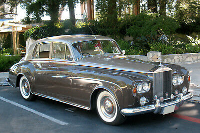1963 Rolls-Royce Silver Cloud  1963 ROLLS ROYCE SILVER CLOUD