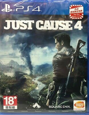 Just Cause 4 Chinese subtitle PS4 NEW