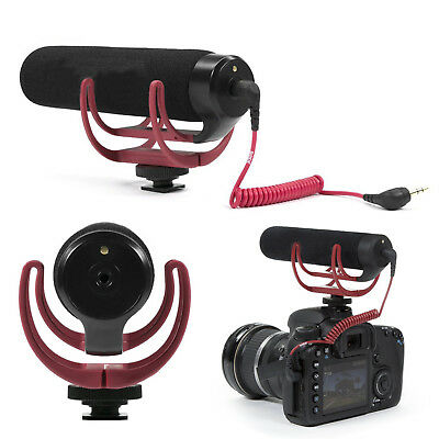 Rode Videomic GO On Camera Rycote Lyre Shoe Mount Microphone For Canon Nikon CAM