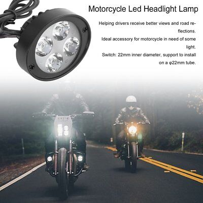 Super Clear 1000Lm Motorcycle Led Headlight Lamp Scooters Fog Spotlight U8
