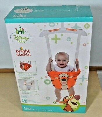 3258f27d3 BRIGHT STARTS DISNEY Doorway Jumper Bouncer (Tigger or minnie mouse ...