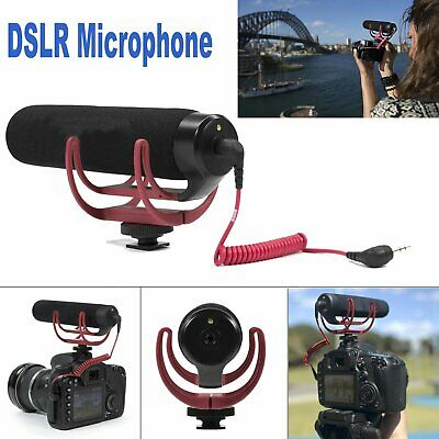 Rode VideoMic Go On DSLR Camera Mount Rycote Lyre Interview Microphone for Nikon
