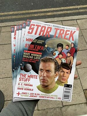 Star Trek Magazine Issue 196 Winter 2018 Discoverys Spock + Number One Revealed