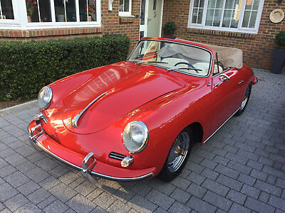 PORSCHE 356B CABRIOLET 1959 Great car ready to use TEL 01303 891141