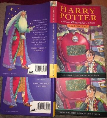 Harry Potter and the Philosophers Stone 1st Edition Hardback BLOOMSBURY DUST JKT