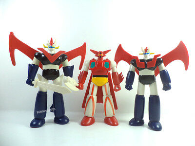 Grande Mazinga Z Getter Set in metallo Action Figure gashapon popy Go Nagai lot