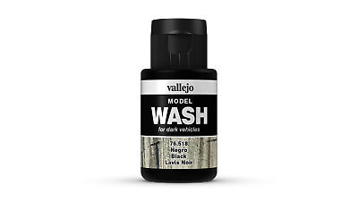 (12,54€/100ml) Vallejo Model Wash Black 35ml 76518 Farbe