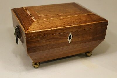 Regency rosewood sewing box c1810, antique sewing box