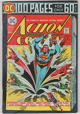 Action Comics # 437   July 1974   Bronze Age  Fn-    100 Pages