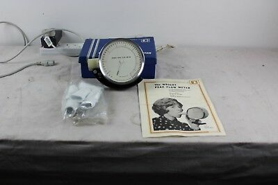 Vintage Wright Peak Flow Meter w/original box and instructions