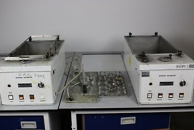 The Mickle Laboratory 2 x Shaking Water Bath Incubators